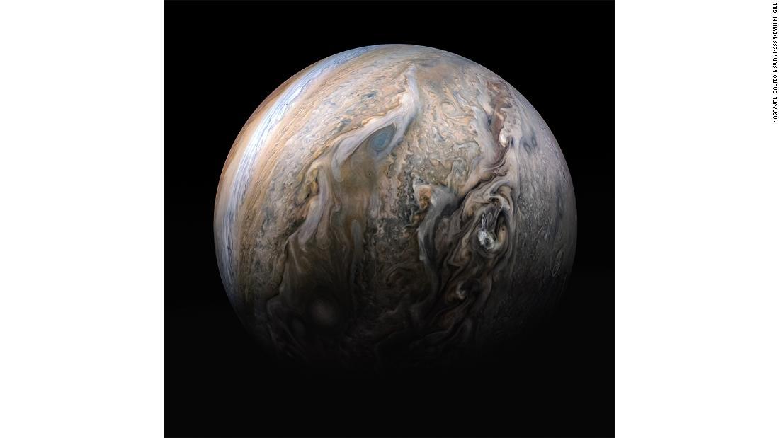НАСА опубликовало фото поверхности и магнитных колебаний Юпитера - снимки как из фантастического фильма - фото 20