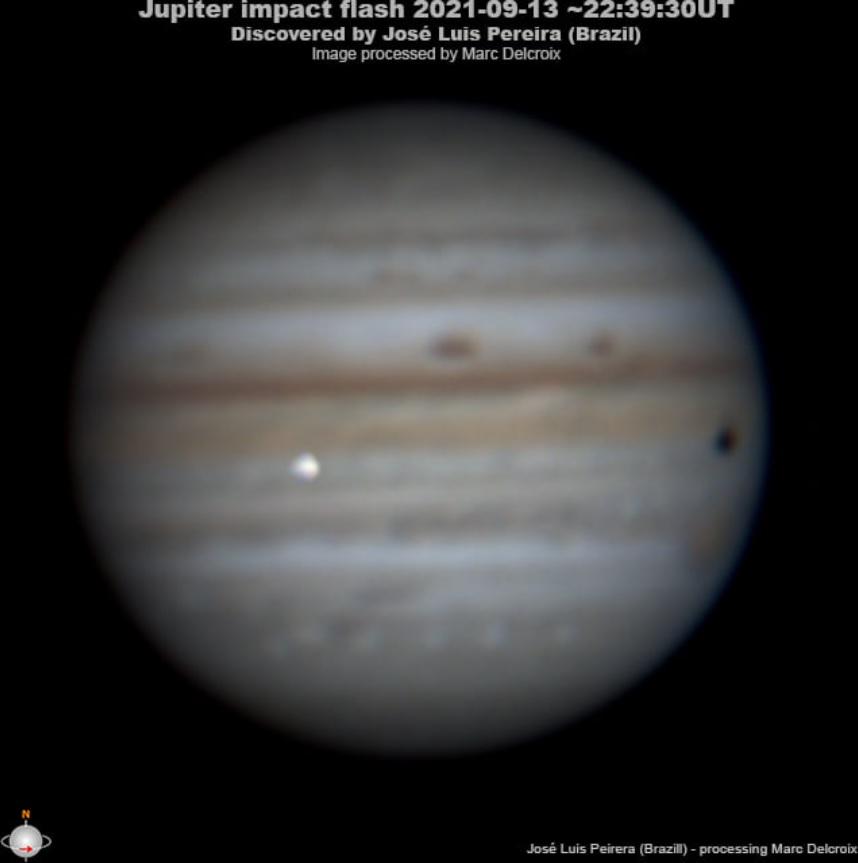 В Юпитер врезался большой неизвестный объект (ФОТО) - фото 2
