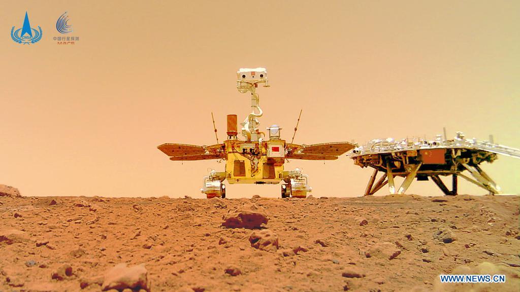 """""""Космічне селфі"""": китайський ровер зробив нові фото з Марса - фото 2"""
