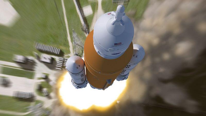 NASA будують мегаракету для доставки людей на Місяць та Марс - фото 2