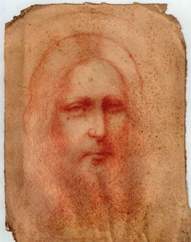 В Италии нашли эскиз Леонардо да Винчи, на котором изображен Христос - фото 2