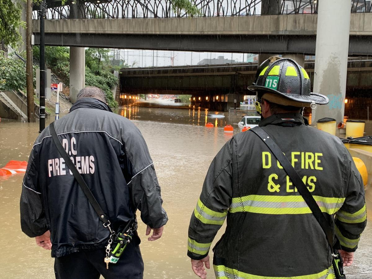 Ливни затопили часть штата Вашингтон, Мэриленд и Вирджинию (фото) - фото 2