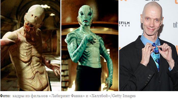 Срываем маски: 5 актеров, которых не узнать без грима - фото 4