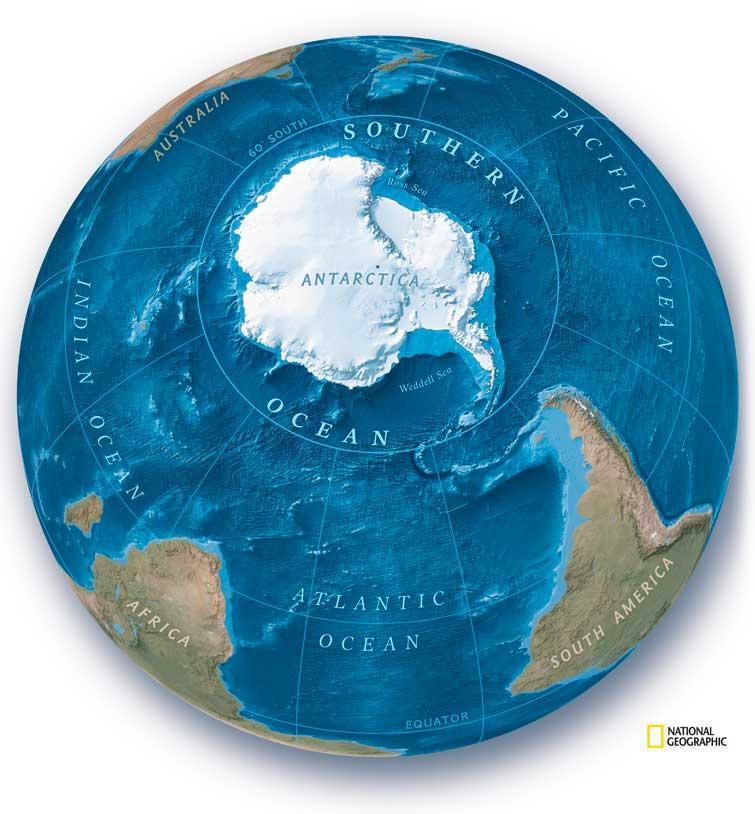На карте мира появится еще один океан  - фото 2