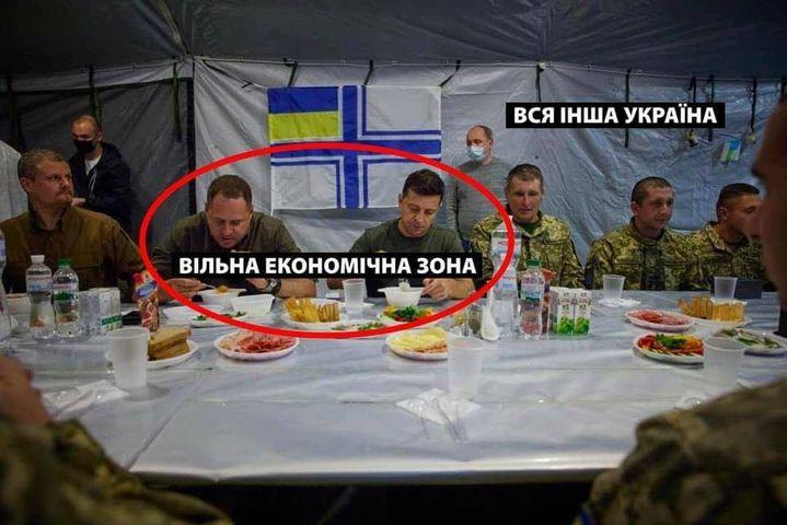 Не хлебом единым: реакция соцсетей на обед Зеленского и Ермака с военными  - фото 6