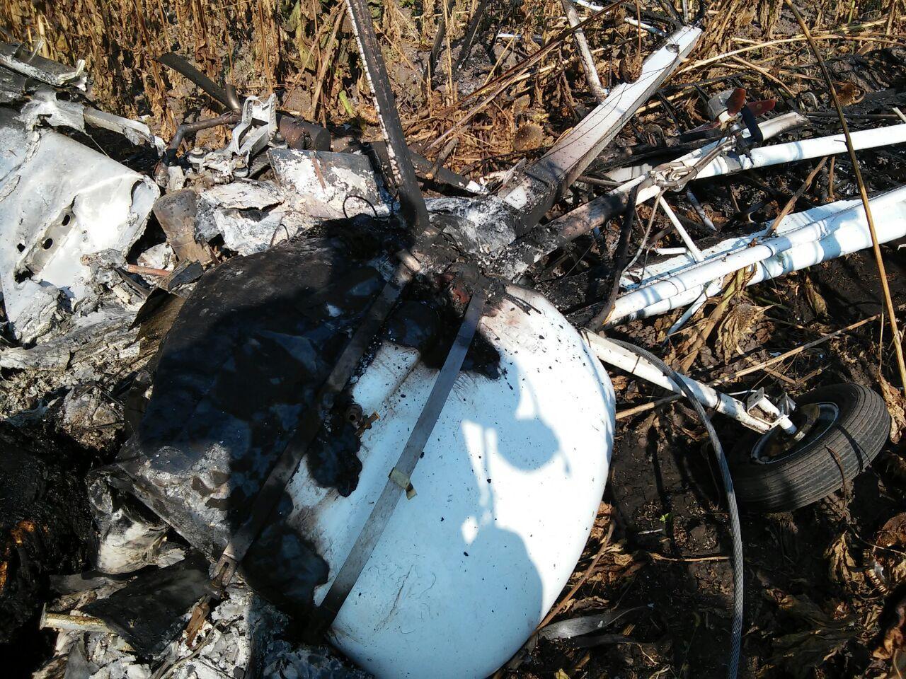 У Сумській області розбився літак, загинув пілот - фото 2