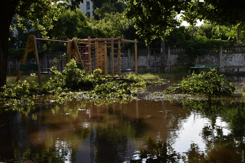 Поплыла из-за дождя: как Одесса справилась с мощнейшей непогодой (ФОТО, ВИДЕО) - фото 13