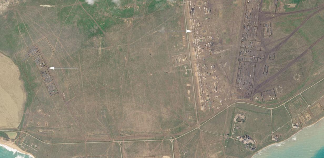З'явилися знімки нового військового табору Росії на окупованій території (ФОТО) - фото 2