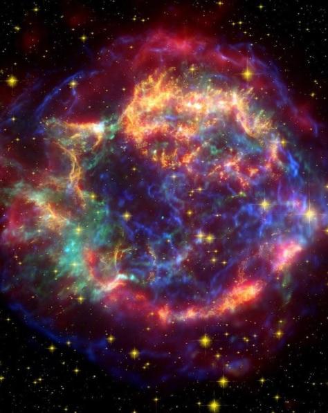 Что остается после взрыва звезды: ученые из NASA показали, как выглядят остатки сверхновой (ФОТО) - фото 2