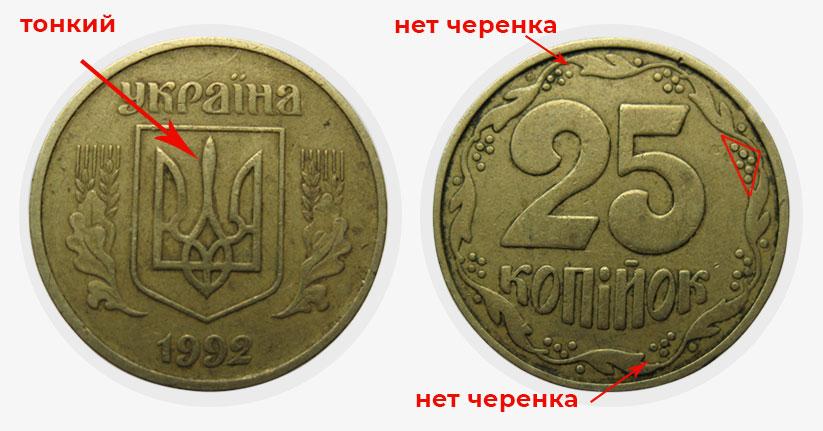 В Украине 25 копеек могут купить за несколько тысяч гривен: как выглядят ценные монеты (ФОТО)  - фото 4