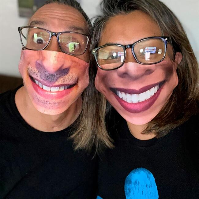 Маски, що імітують особи - 20+ найсмішніших фото - фото 23