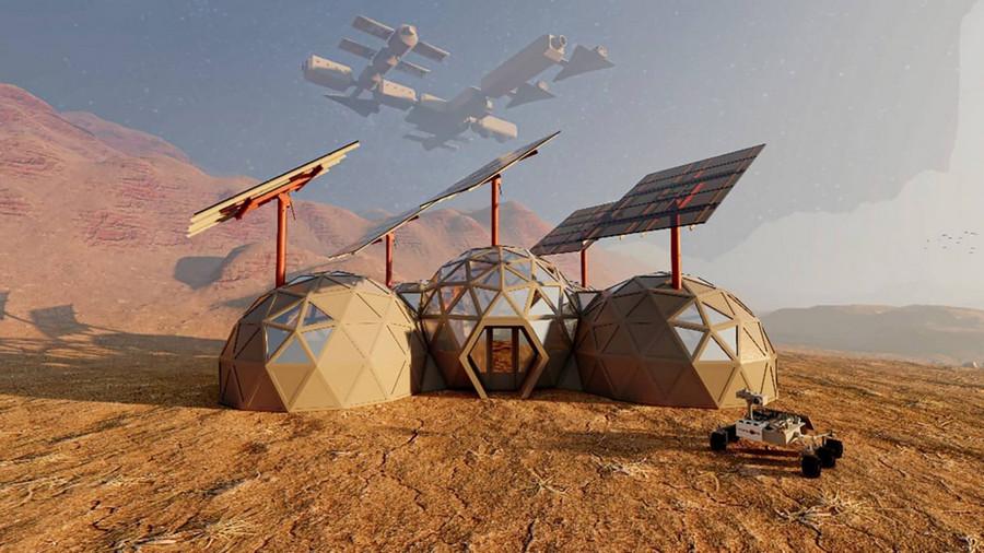 Как будут выглядеть дома на Марсе: архитектор поделился своими предположениями (ФОТО)  - фото 2
