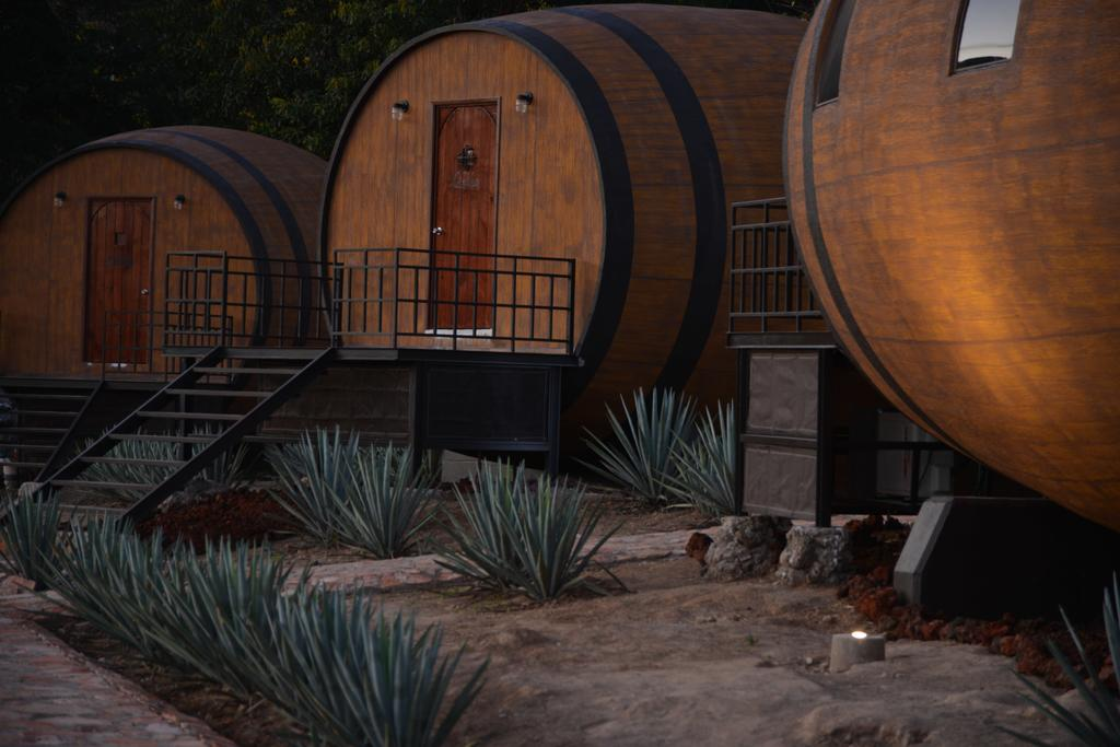 Провести ночь в бочке из-под текилы: в Мексике открыли отель на территории завода по производству напитка - фото 5