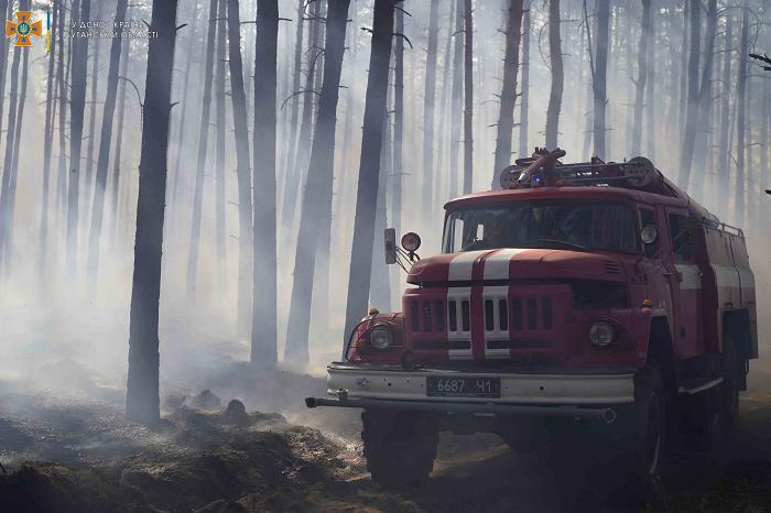 На Луганщине вспыхнул пожар - фото 3