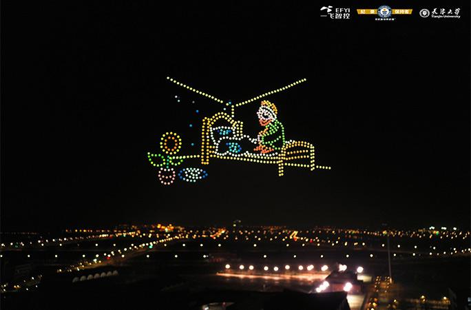Новий рекорд Гіннеса: в Китаї дрони відтворили картини Ван Гога (ФОТО, ВІДЕО) - фото 4