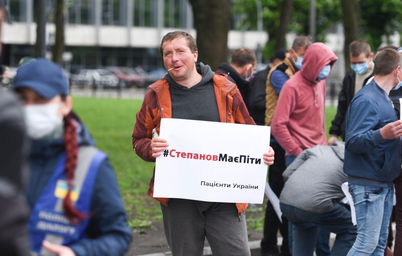 Мітинг за відставку глави МОЗ Степанова був проплаченим (ФОТО) - фото 2