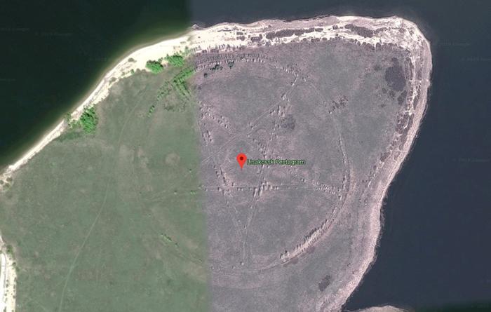 Пять интересных мест, рассекреченных благодаря Google Maps - фото 6