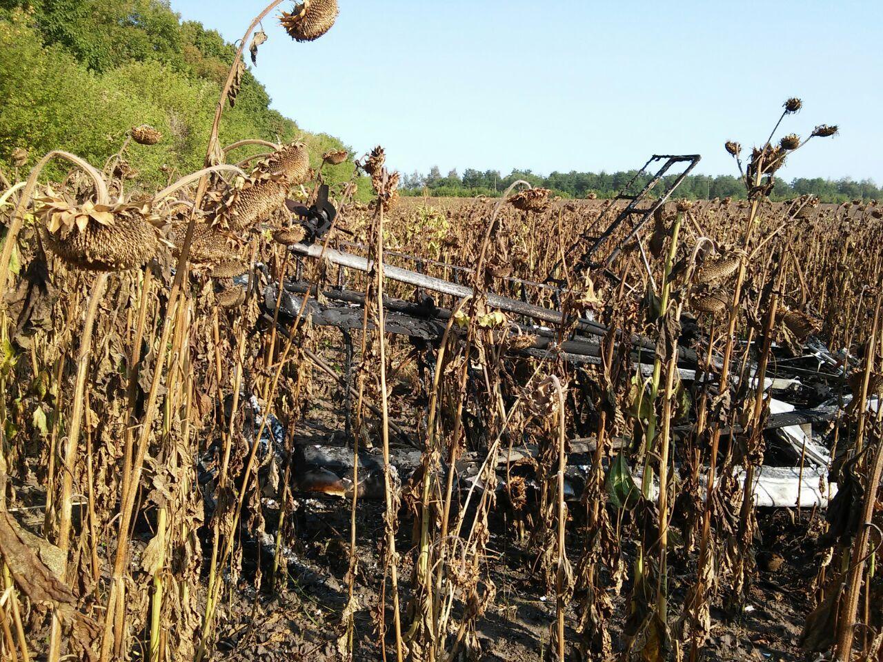 У Сумській області розбився літак, загинув пілот - фото 3