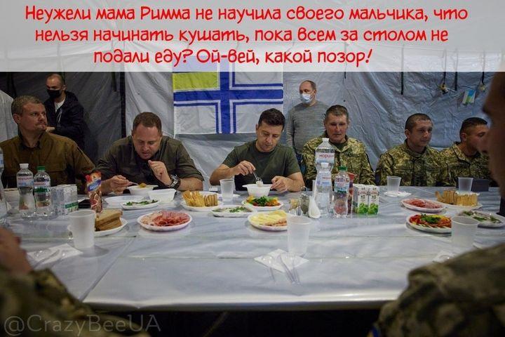 Не хлебом единым: реакция соцсетей на обед Зеленского и Ермака с военными  - фото 3