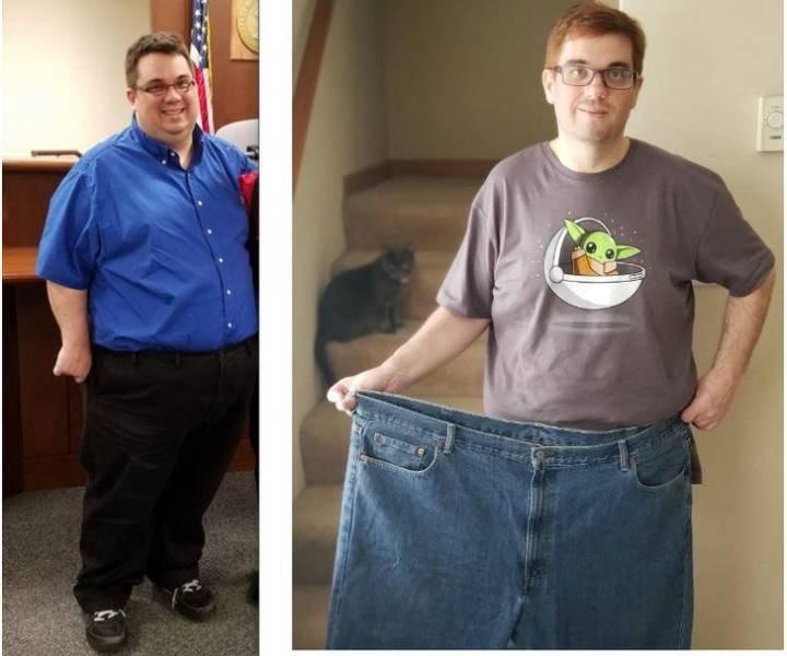 Вольові і цілеспрямовані: чоловіки, які захотіли і змогли схуднути (фото) - фото 16