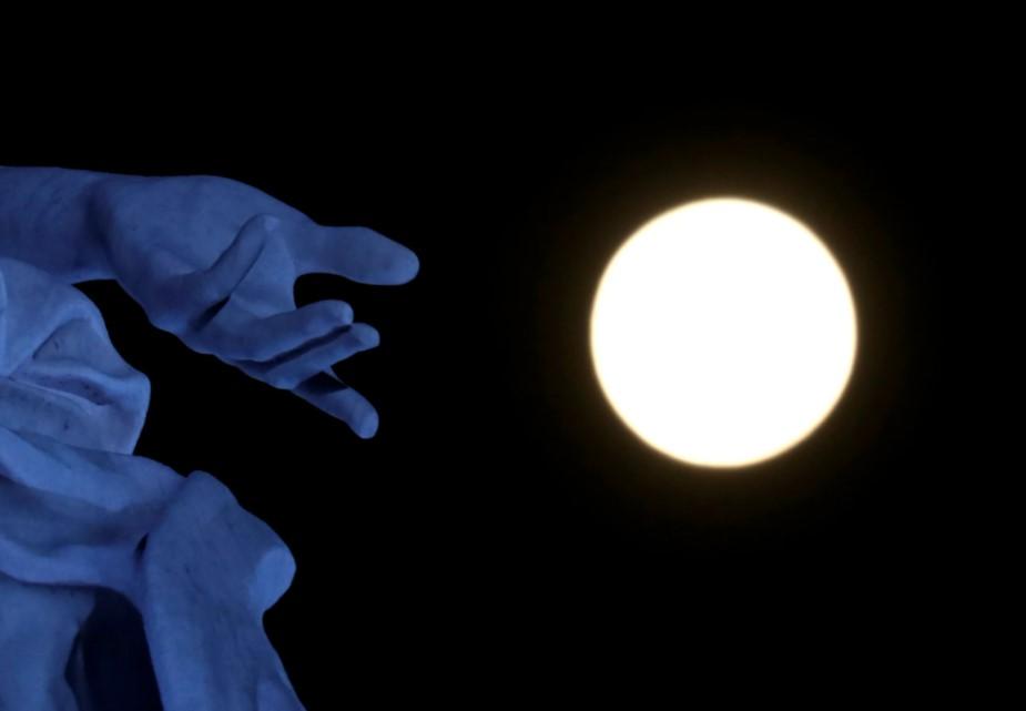 Розовая луна 2021: как выглядело суперлуние в разных уголках планеты (ФОТО)  - фото 3