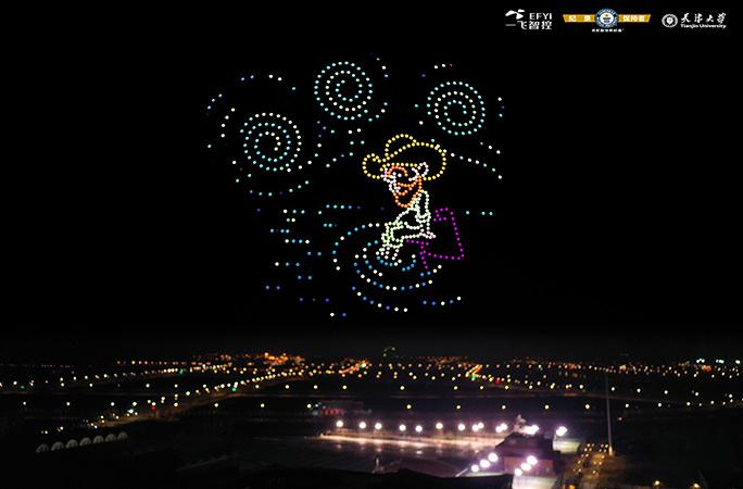 Новий рекорд Гіннеса: в Китаї дрони відтворили картини Ван Гога (ФОТО, ВІДЕО) - фото 3