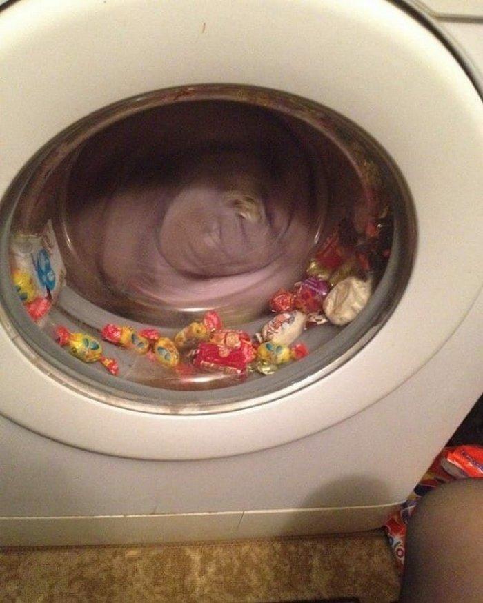 Коли прання пішло не за планом: 10 курйозних фото - фото 8