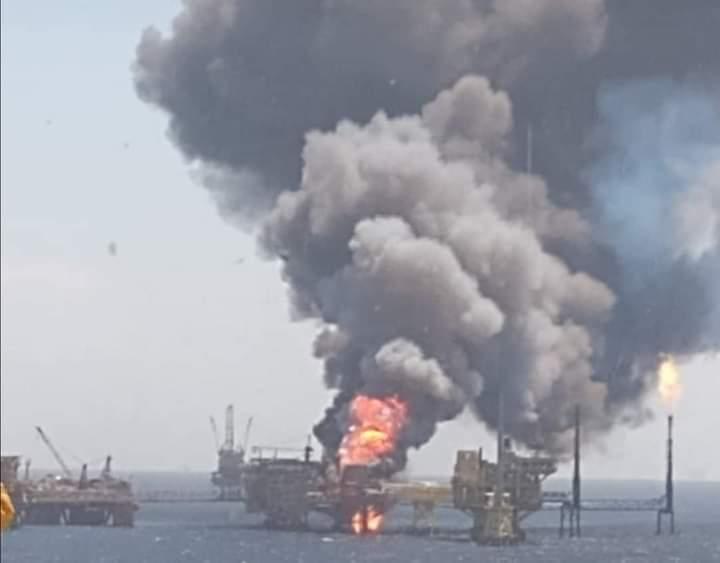 Взрыв на нефтяной платформе в Мексиканском заливе: сколько человек пострадало - фото 2