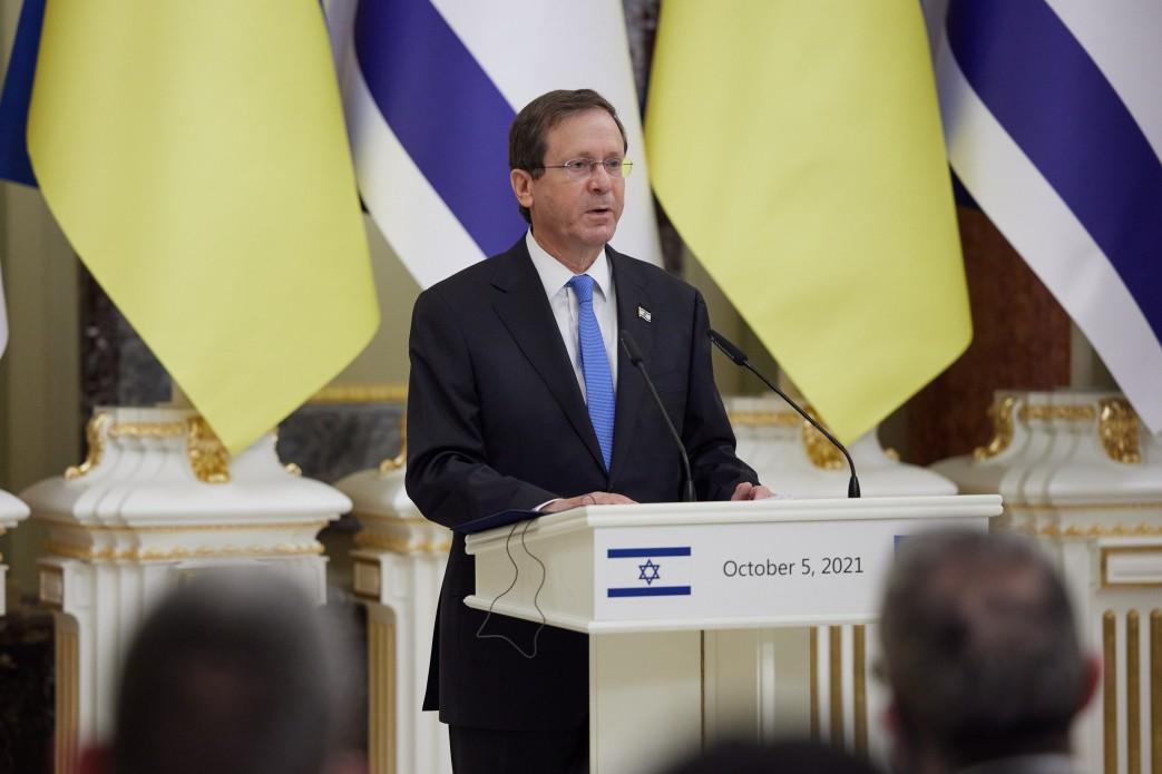В Украину прибыл президент Израиля: как проходит его официальный визит - фото 8