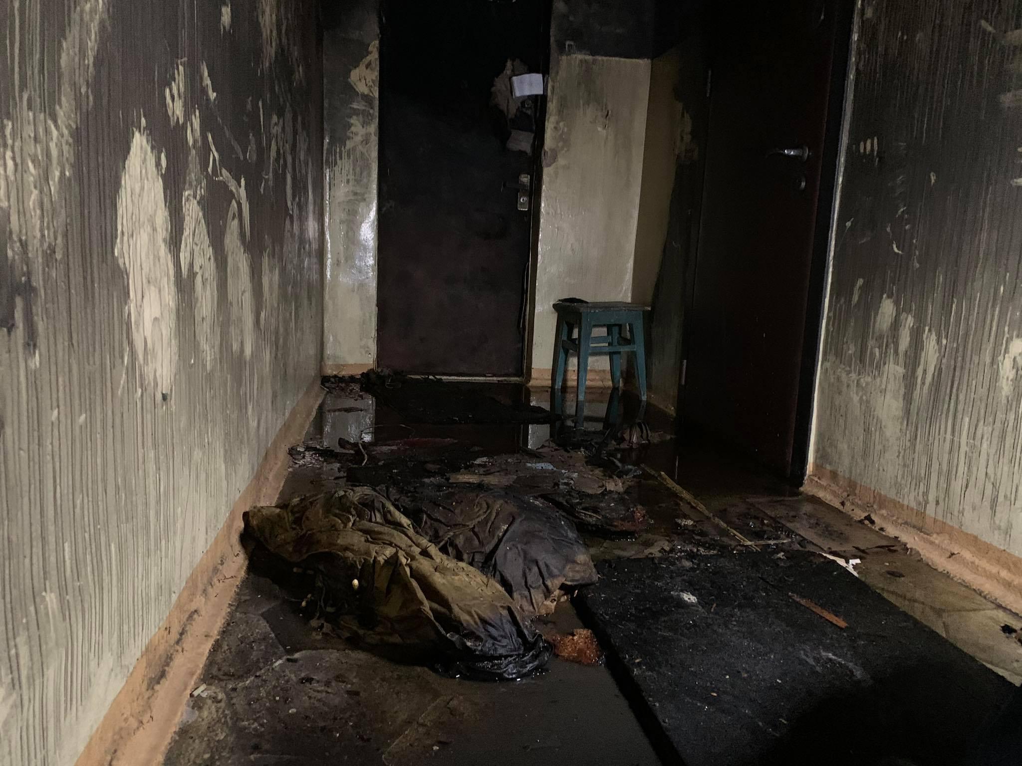 У київській багатоповерхівці згорів заживо чоловік - ФОТО - фото 3
