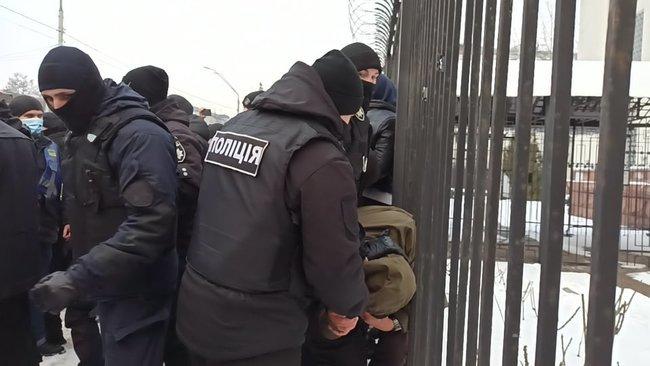 В Киеве сорвали акцию в поддержку Навального (фото, видео) - фото 3