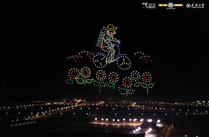 Новий рекорд Гіннеса: в Китаї дрони відтворили картини Ван Гога (ФОТО, ВІДЕО) - фото 2