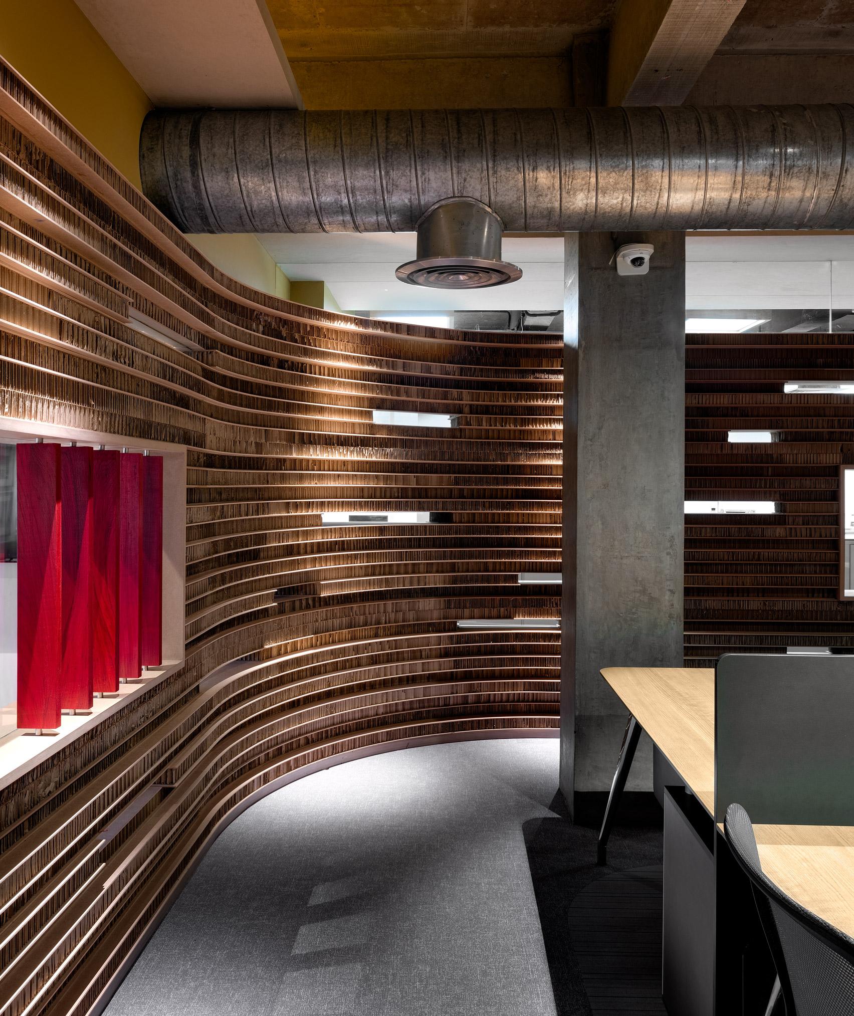 Офис из картона: фото впечатляющего экодизайна - фото 4