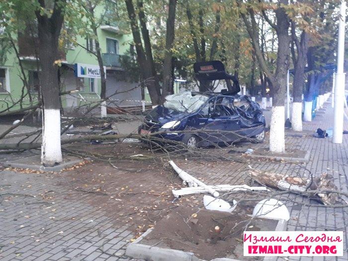 Удар був такої сили, що дерево виявилося вирваним з коренем - в Одеській області страшне ДТП, яке забрало життя - фото 3