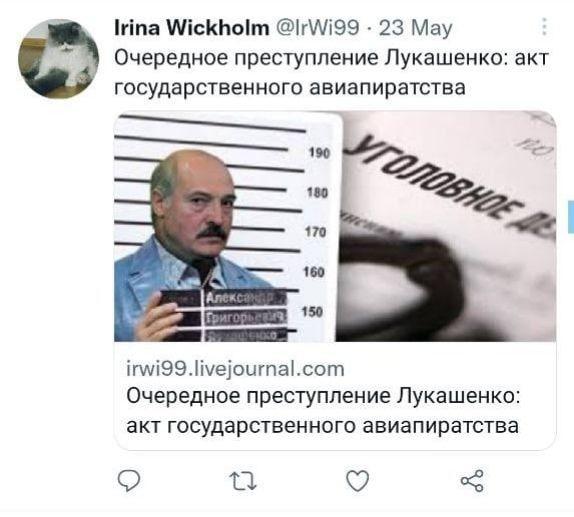 Росіянка отримала тюремний строк у Білорусі за твіт про Лукашенка: що вона написала - фото 2