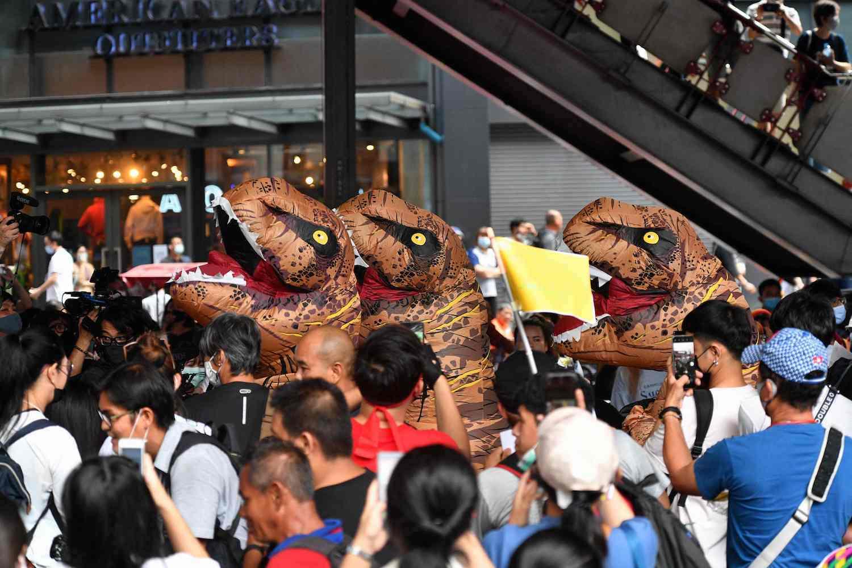 Тисячі дітей протестують проти освітніх реформ у Таїланді (фото) - фото 3