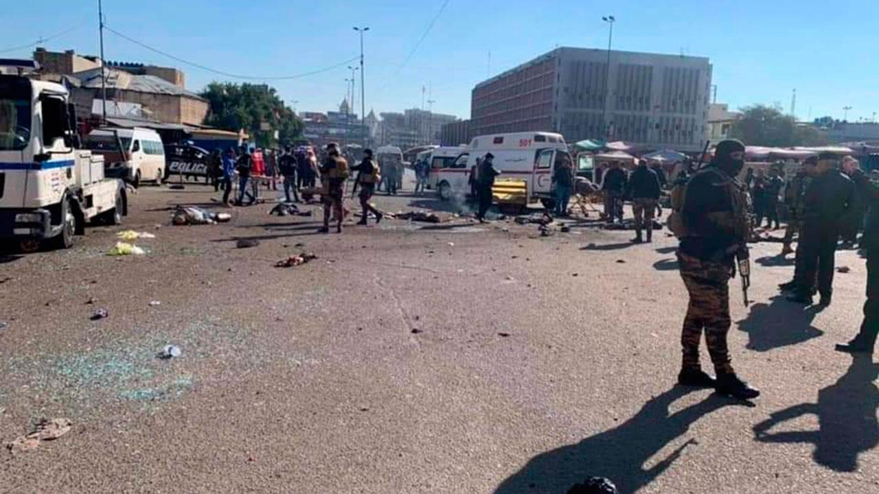 В центре Багдада прогремел взрыв: есть жертвы — фото, видео (ОБНОВЛЕНО) - фото 2