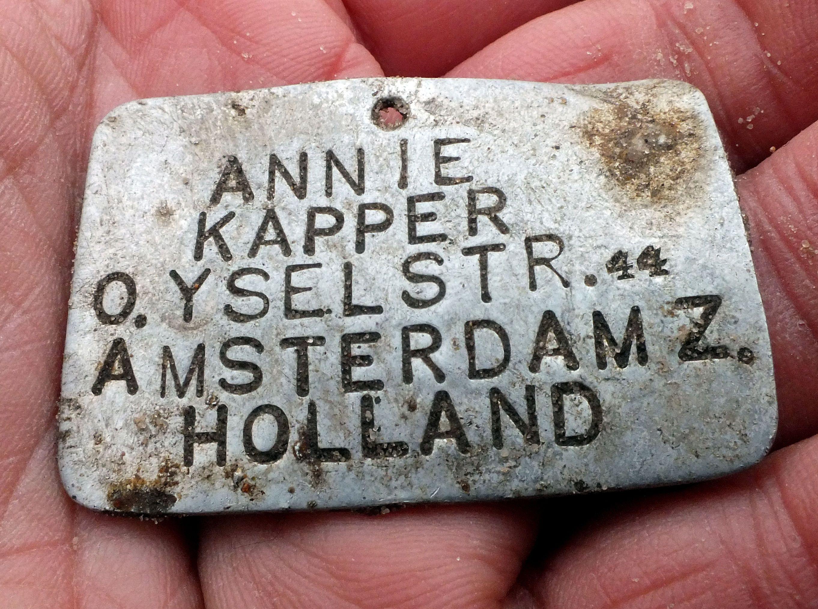 Страшная находка: в Собиборе обнаружили металлические бирки детей, отправленных в лагеря смерти (фото) - фото 3