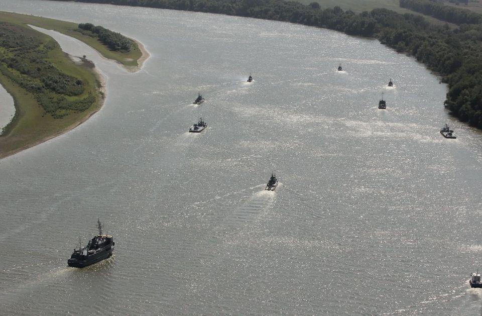 В Генштабе показали, как проходят учения ВМС Украины и Румынии на Дунае - фото 4