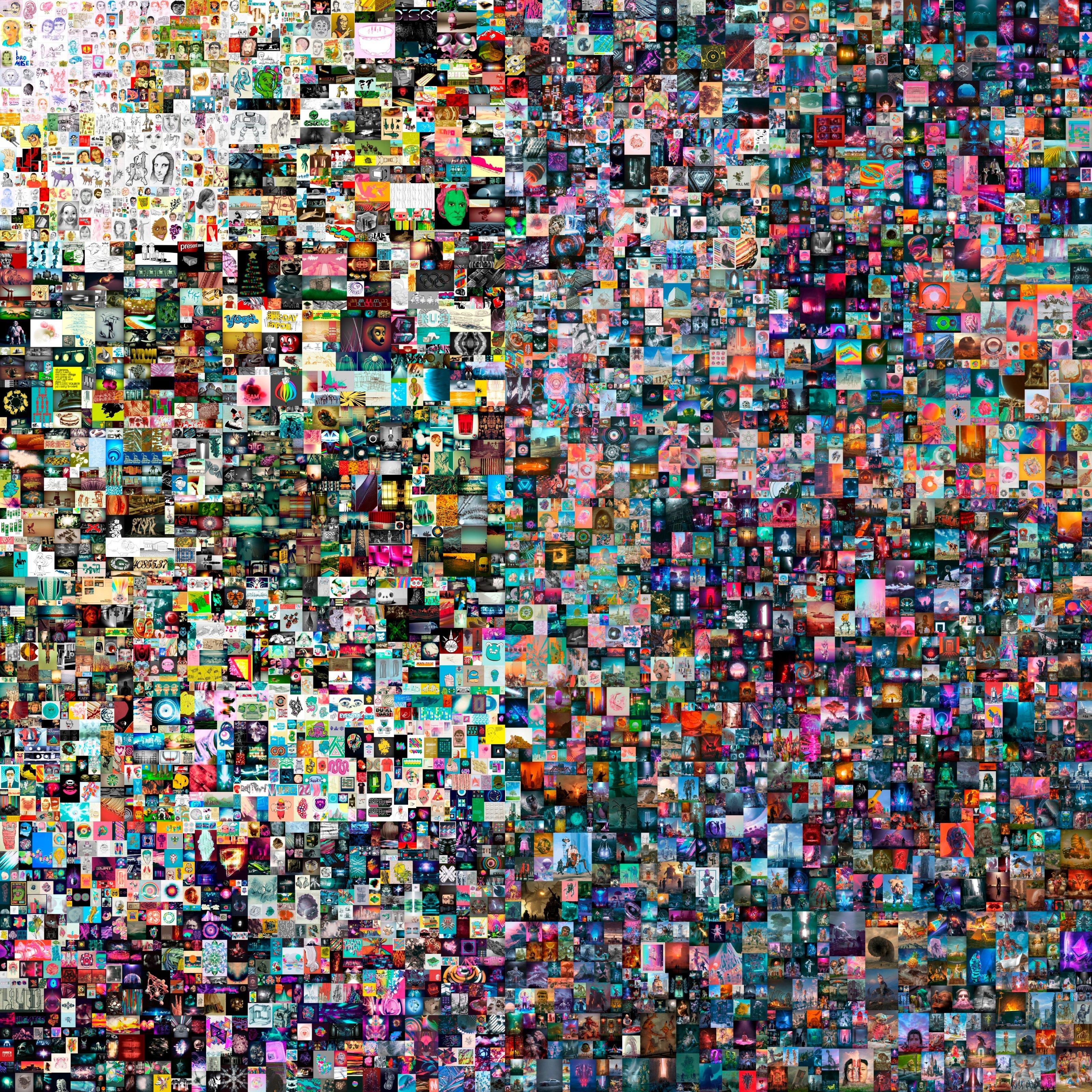 Цифрове мистецтво: картину цифрового художника Beeple продали на аукціоні за 69 млн доларів - фото 2