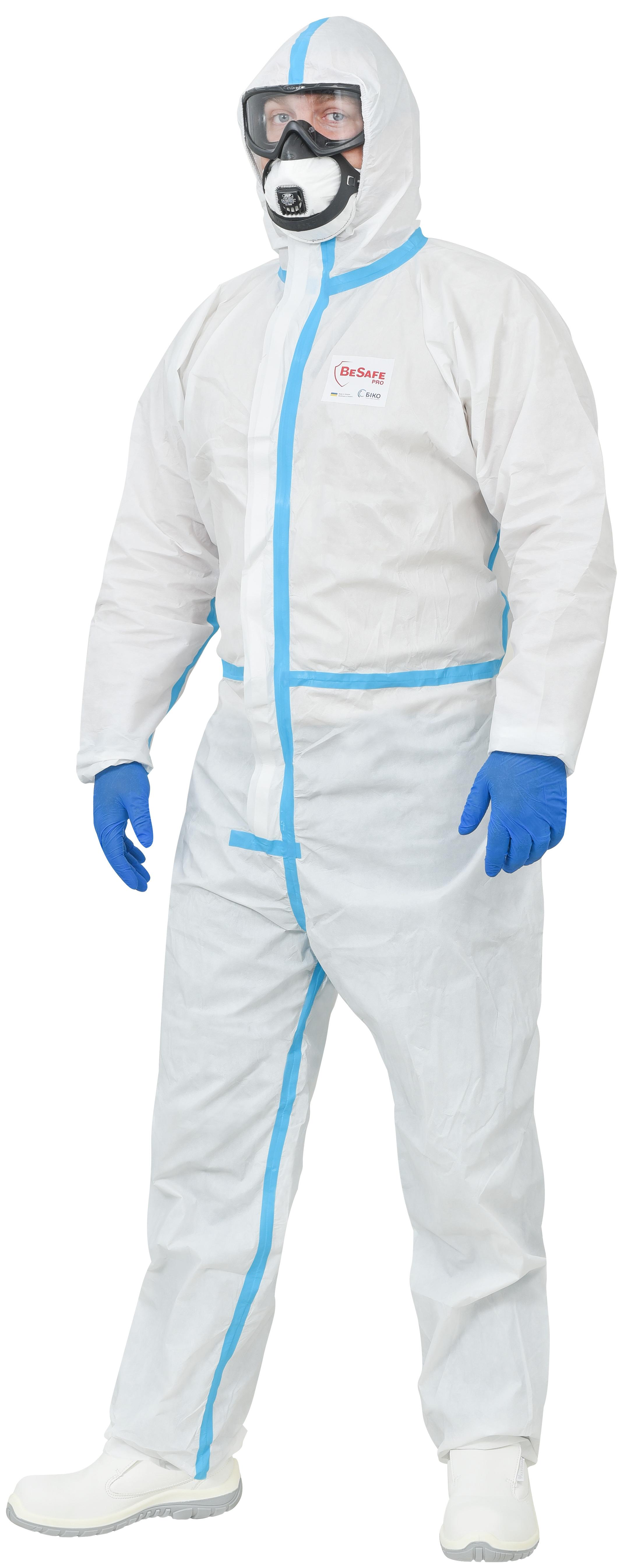 Медиків захищатимуть від ковіду сертифіковані костюми - фото 2