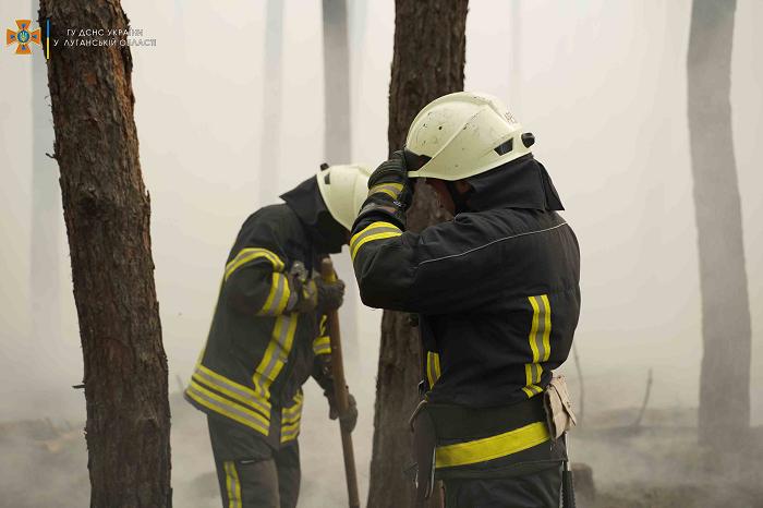На Луганщине вспыхнул пожар - фото 4