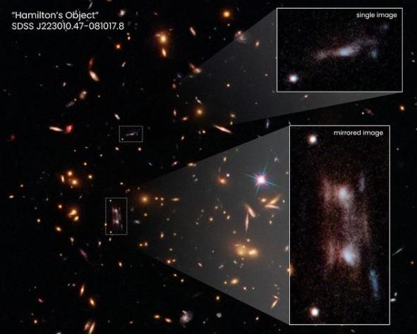 На расстоянии 7 миллиардов световых лет: ученые показали далекие галактики, которые запечатлел Hubble (ФОТО) - фото 2