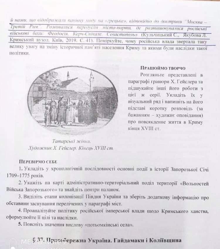 Скандал из-за учебника по истории для 8 класса: ИМЗО ответил нардепу «Голоса» Наталье Пипе - фото 3