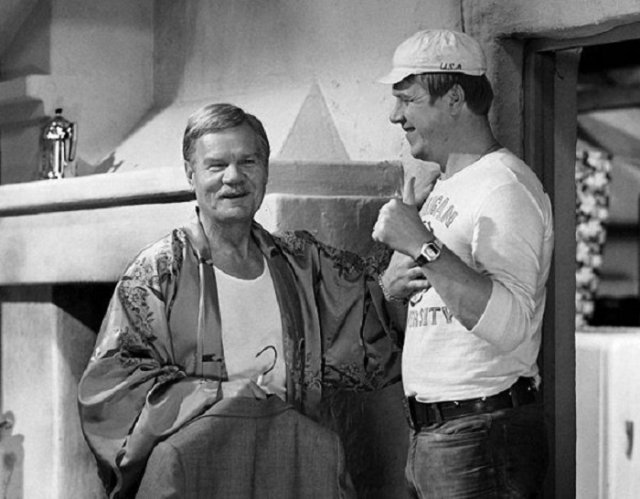 Приятная ностальгия: фото со съемочных площадок советских фильмов - фото 11