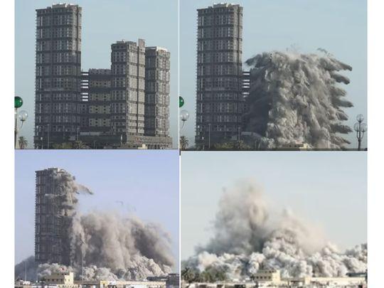 Четыре небоскреба стерли с лица земли: хватило десяти секунд - фото 2