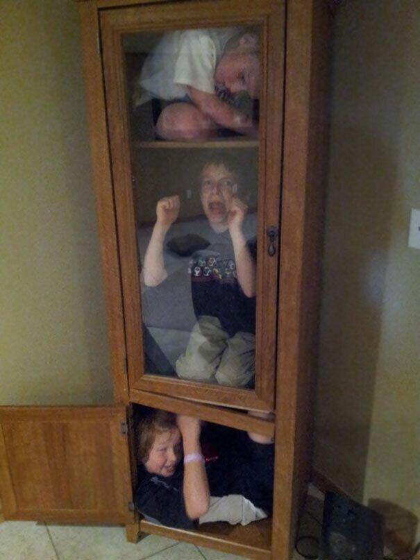 Що роблять діти, поки батьки не бачать (Кумедні фото) - фото 8