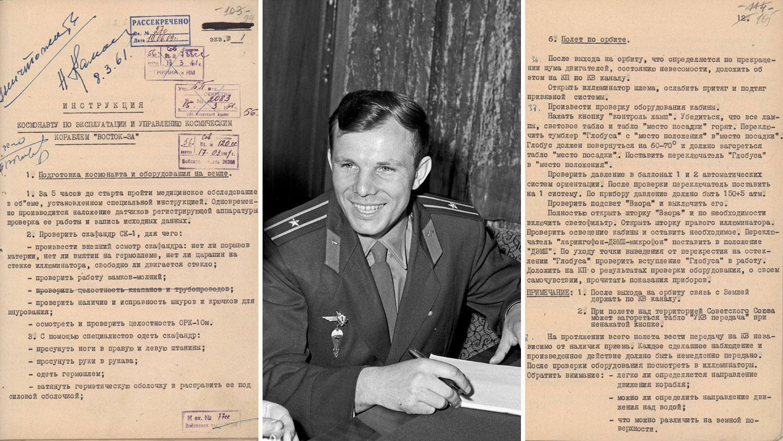 День космонавтики: стало известно по какой инструкции Юрий Гагарин отправлялся в космос (Фото) - фото 2