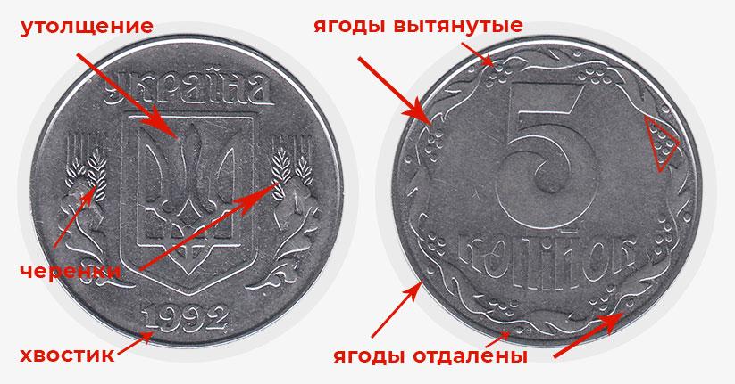 За пять копеек готовы заплатить тысячи гривен: как выглядит ценная мелочь (ФОТО)  - фото 4