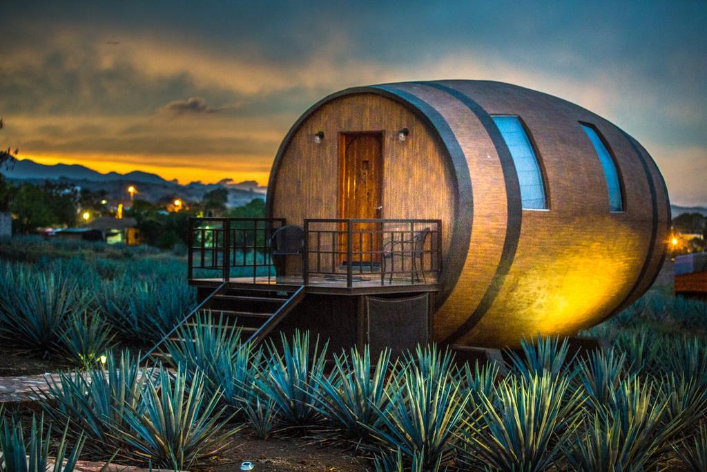 Провести ночь в бочке из-под текилы: в Мексике открыли отель на территории завода по производству напитка - фото 2